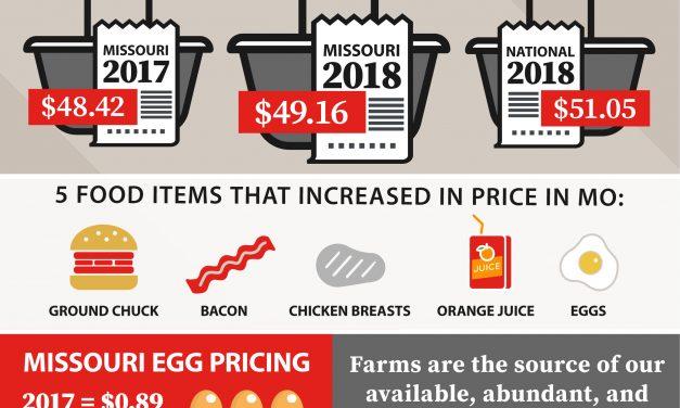 Missouri Food Prices Stable in Farm Bureau Marketbasket Survey